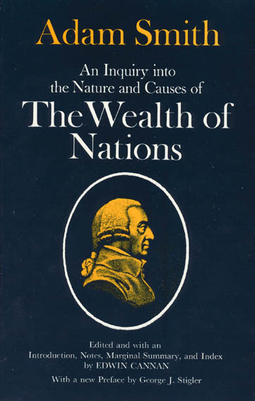 An Inquiry into the Nature and Causes of the Wealth of Nations/2 Volumes in 1 By Smith, Adam